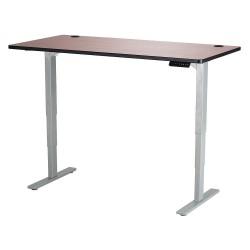 Safco - 1962CYGR - Adj. Table, 30 in.D, 60 in.W, Cherry, Steel
