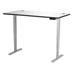 Safco - 1962GRGR - Adj. Table, 30 in.D, 60 in.W, Gry, Steel