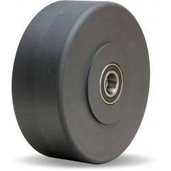 Hamilton Caster - W-830-NYB-1-1/4 - 8 Caster Wheel, 7200 lb. Load Rating, Wheel Width 3, Nylon, Fits Axle Dia. 1-1/4