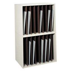 Safco - 3030 - Art Rack, Particle Board