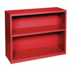 Sandusky Lee - BA10341230-01 - 34 x 12 x 30 Elite Series Bookcase with 1 Shelves, Red