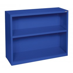 Sandusky Lee - BA10341230-06 - 34 x 12 x 30 Elite Series Bookcase with 1 Shelves, Blue