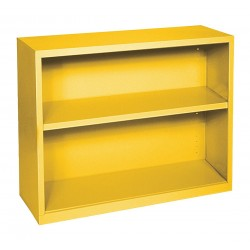 Sandusky Lee - BA10341230-EY - Bookcase, Vertical, Elite, 1, Yellow, Steel