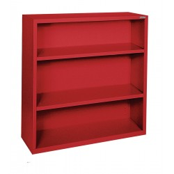 Sandusky Lee - BA20341242-01 - Bookcase, Vertical, Elite, 2, Red, Steel