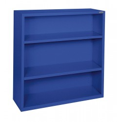 Sandusky Lee - BA20341242-06 - Bookcase, Vertical, Elite, 2, Blue, Steel