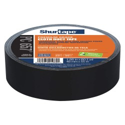 Shurtape - PC 657 - 48mm x 55m Duct Tape, Black