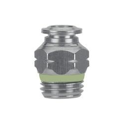 Alpha Fittings - 55310-8 - 8mm Plastic/Metal Combination Y-Mender, Black
