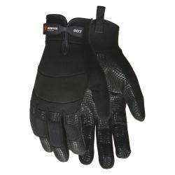 Memphis Glove - 907S - Multi-task Black Spiderweb Grip Glove S