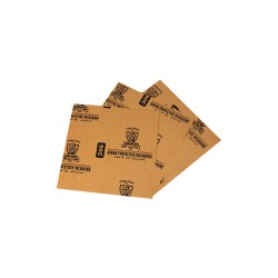Armor Products - A30G0404 - Paper Sheets, 2 lb. Basis Weight, 4 Length, 4 Width, Natural Kraft Color