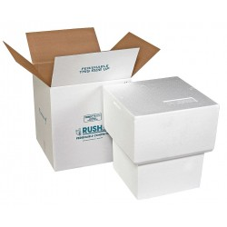 Polar Tech - NS-7C - White Shipper and Carton, 19-1/2D x 17-3/4W x 17-3/4 L , Holds :5 gal. Bucket