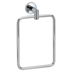 "Taymor - 04-2804A - 6-1/8""H x 2-7/8""D Polished Chrome Towel Ring, Astral Collection"