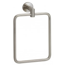 Taymor - 04-SN2804 - 9-1/4H x 2-7/8D Satin Nickel Towel Ring, Astral Collection