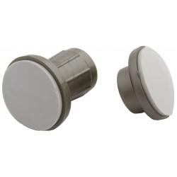 Taymor - 01-9655SN - Satin Nickel ABS Plastic Adjustable Rod Flanges