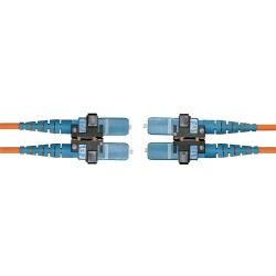 Hubbell - DFPCSCSCD5MM - Fiber Patch Cord, SC to SC, Duplex MM, 50/125, 5m