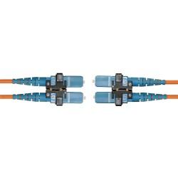 Hubbell - DFPCSCSCS3SM - Fiber Patch Cord, SC to SC, Duplex SM, 3m
