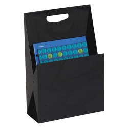 Safco - 3160BL - Desktop Organizer, 4-3/4in D x 11-3/4in W