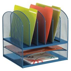 Safco - 3255BU - Desktop Organizer, 11-1/2 in. D