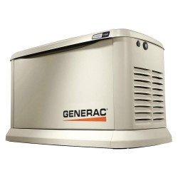 Generac - 7034 - Air Engine Cooling, 120/240VAC Voltage, Engine Size: 999cc, 15 kVA Rating, 1 Phase