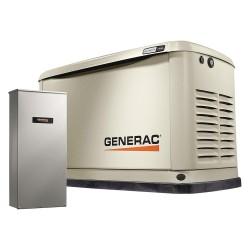 Generac - 7030 - Air Engine Cooling, 120/240VAC Voltage, Engine Size: 426cc, 9 LP/ 8 NG kVA Rating, 1 Phase