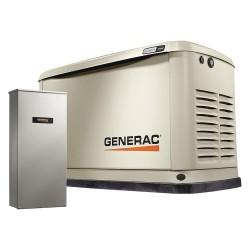Generac - 7036 - Air Engine Cooling, 120/240VAC Voltage, Engine Size: 999cc, 16 LP/16 NG kVA Rating, 1 Phase