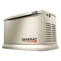 Generac - 7041 - Air Engine Cooling, 120/240VAC Voltage, Engine Size: 999cc, 20 LP/18 NG kVA Rating, 1 Phase