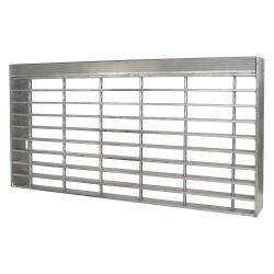 Direct Metals - 23188R125-TRD3 - Stair Tread, Serrated Surface, 24 Tread Width, 8.563 Tread Depth