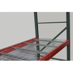 Worldwide Material Handling - 4246S(1.4)-3-2504-4.6 - 46 x 42 Wire Mesh Decking with 2000 lb. Load Capacity, Gray Powder Coated