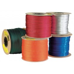 Sterling Rope - WB254MS08091 - Webbing Spools, 1 in., Nylon, Red