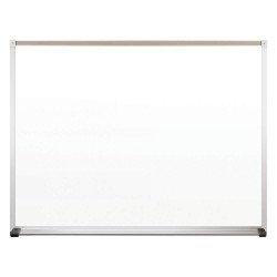 Best-Rite / MooreCo - 212AC - Gloss-Finish Plastic Dry Erase Board, Wall Mounted, 36H x 48W, White