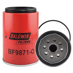 Baldwin Filters - BF9871-O - Fuel Filter, Spin-On Filter Design