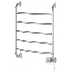 See All - WR-HSRS - 6D x 19W x 26H Satin Nickel 5 Bar Towel Warmer