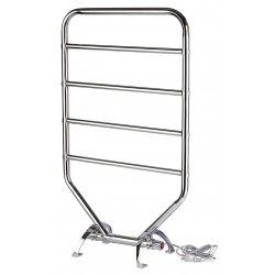 See All - WR-RTC - 7D x 21W x 34H Chrome 5 Bar Towel Warmer