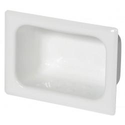 BestCare - WH1832-PF - 2-5/8 x 5 x 7 Enviro-Glaze Ligature Resistant Soap Dish