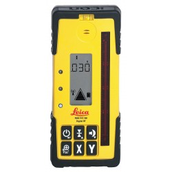 Leica Geosystems - 180 - Laser Receiver, Digital, Plastic, 1/4-20 in