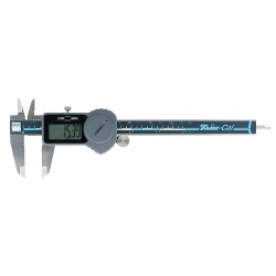 Brown & Sharpe Precision - 00590093 - Digital Caliper 0-6/0-150mm Range, 0.0005/0.01mm Resolution, IP Rating: Not Rated, Stainless Steel