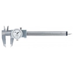 Brown & Sharpe Precision - 00589020 - 0-6 Range Stainless Steel Inch Dial Caliper with 0.001 Graduations
