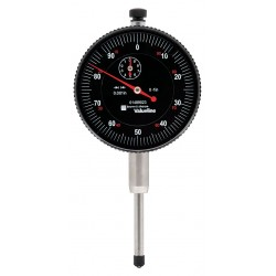 Brown & Sharpe Precision - 01489023 - Continuous Reading Dial Indicator, AGD 2, 2.250 Dial Size, 0 to 1 Range