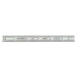 "Brown & Sharpe Precision - 599-323-604 - 44140 6"" Rule Flex Chrome"