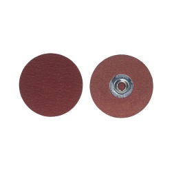 Merit Abrasives - 69957399643 - 2 Quick Change Disc, Aluminum Oxide, TS, 100 Grit, Fine, Coated, R228, PK100