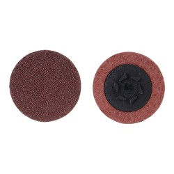 Merit Abrasives - 69957399782 - 2 Coated Quick Change Disc, TP Snap-On/Off Type 1, 180, Very Fine, Aluminum Oxide, 100 PK
