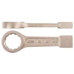 Ampco Safety Tools - WS-28 - Striking Wrench, Metric, Number of Points: 12