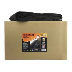 Quick Dams - QD617-1 - Water Activated Flood Barrier, 9 W x 17 ft. L, 1 EA