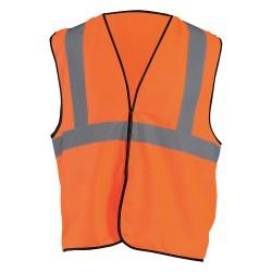Occunomix - ECO-G-O2/3X - High Visibility Vest, Orange, 2XL/3XL