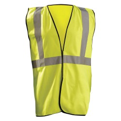 Occunomix - ECO-G-YL/XL - High Visibility Vest, Class 2, Yellow, L/XL