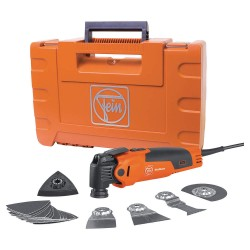 FEIN Power Tools - FMM 350QSL QUICK START - Oscillating MultiMaster Tool Kit, 3.6Amp.