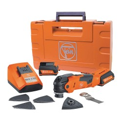 FEIN Power Tools - AFMT 12QSL - Multitalent 12v Multi-tool W/soft Bag Acc.kit