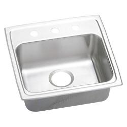 Elkay - LRADQ1918603 - 19 x 18 x 6 Drop-In Sink with 16 x 11-1/2 Bowl Size