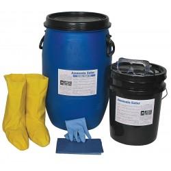 Ammonia Eater - 4400-015 - Neutralizing Spill Kit, Neutralizes Ammonia, Liquid, 15 gal.