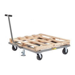 Little Giant - PDT-4848-6PHFL - 48L x 48W x 9H Gray Pallet Dolly, 3600 lb. Load Capacity