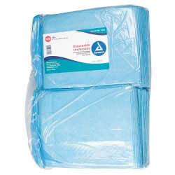 Dynarex - 1342 - Disposable Underpads, 23 x 24, Package Quantity 200